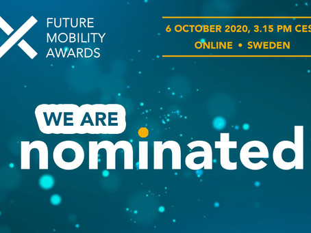Join us at the Future Mobility Awards ceremony with MobilityXlab