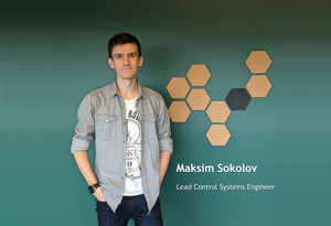 Maksim Sokolov appointed as Lead Control Systems Engineer