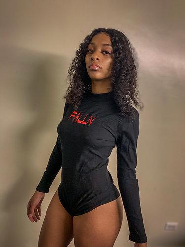 Falln  stiched bodysuit