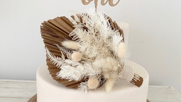 'Wild One' Wooden Cake Topper