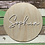 Thumbnail: Personalised Name Wooden and Acrylic Sign