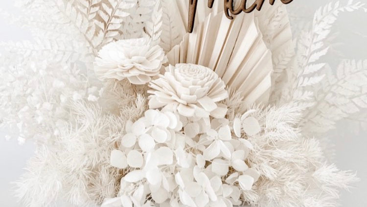 Mum Flower /Cake Stake