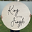 Thumbnail: 'King of the Jungle' Wooden Sign