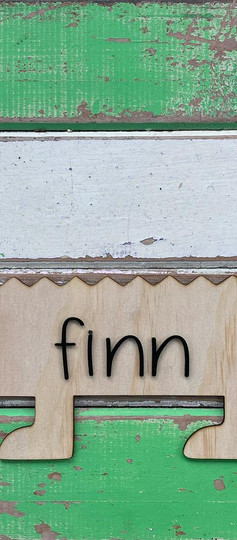 Personalised Wooden Wall Decor
