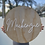 Thumbnail: Personalised Wooden with Acrylic Wording Sign