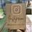 Thumbnail: Social Media Personalised Sign