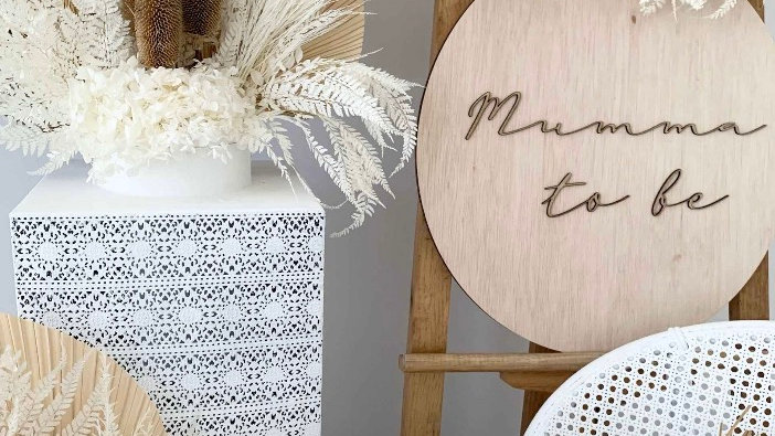 Mummy to be Wooden Sign /Photo Prop
