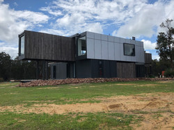 Lanigan Architects - Kaloorup Shipping Container Home - external cladding