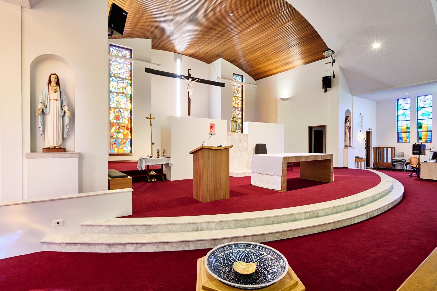 Lanigan Architects - IHM Church 11