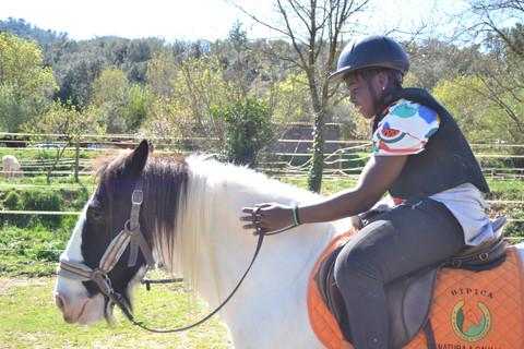 Equitació respectuosa bitless
