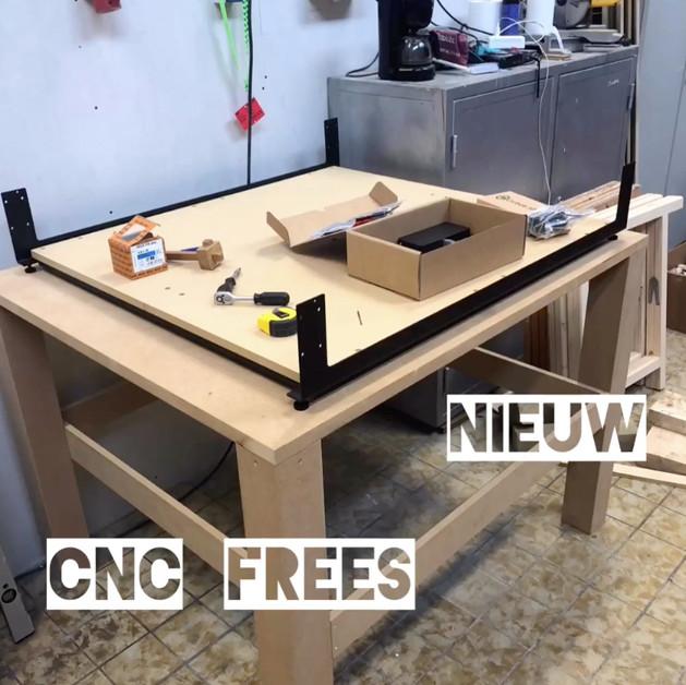 Nieuwe cnc- frees