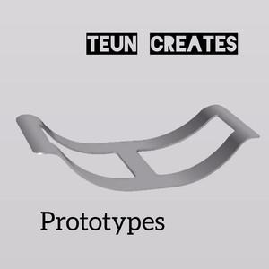 Prototype haardblokkenrek