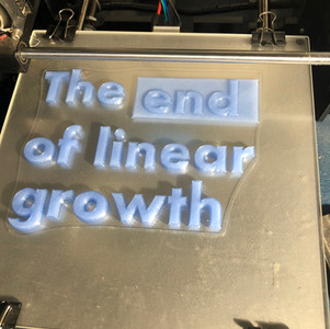 The end of linear growth