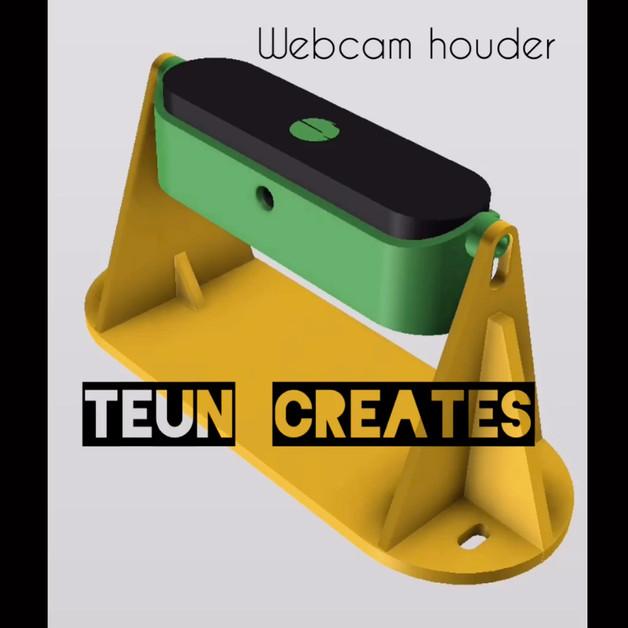 Webcam camera houder
