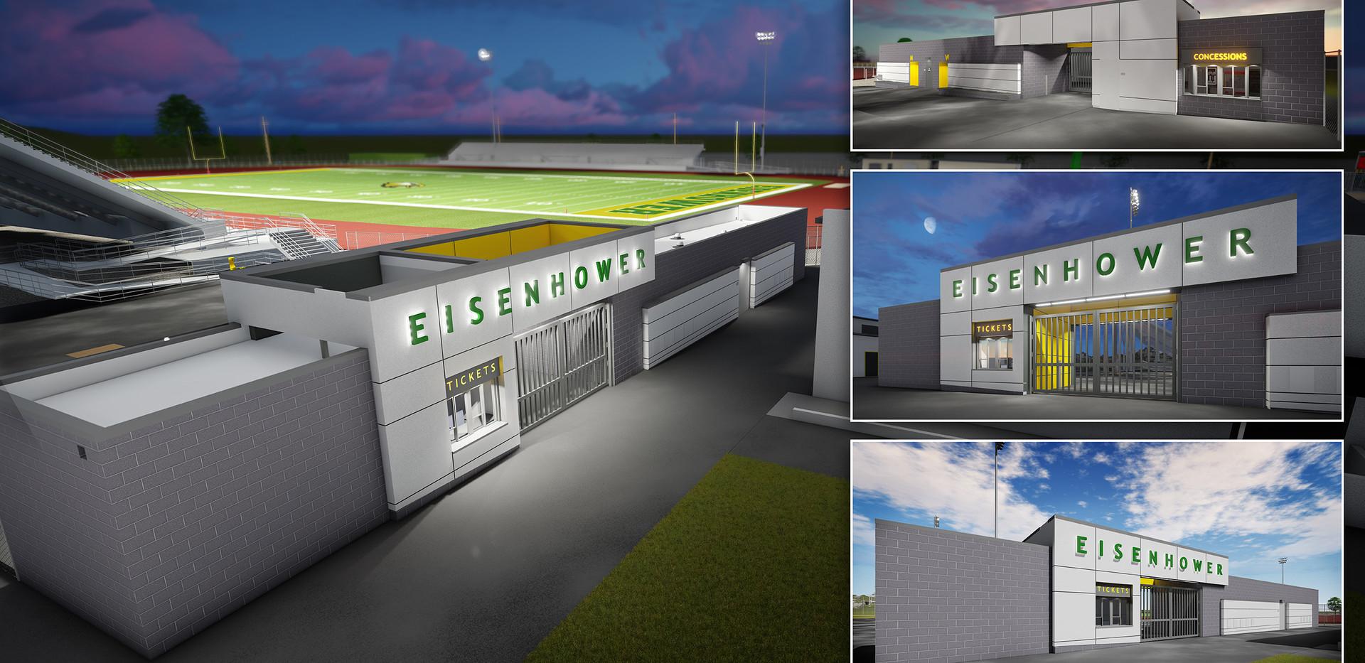 Eisenhower Stadium Presentation Board_lo