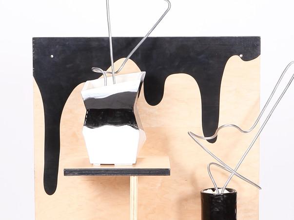 Ikebana Vessels & Furmiture Display