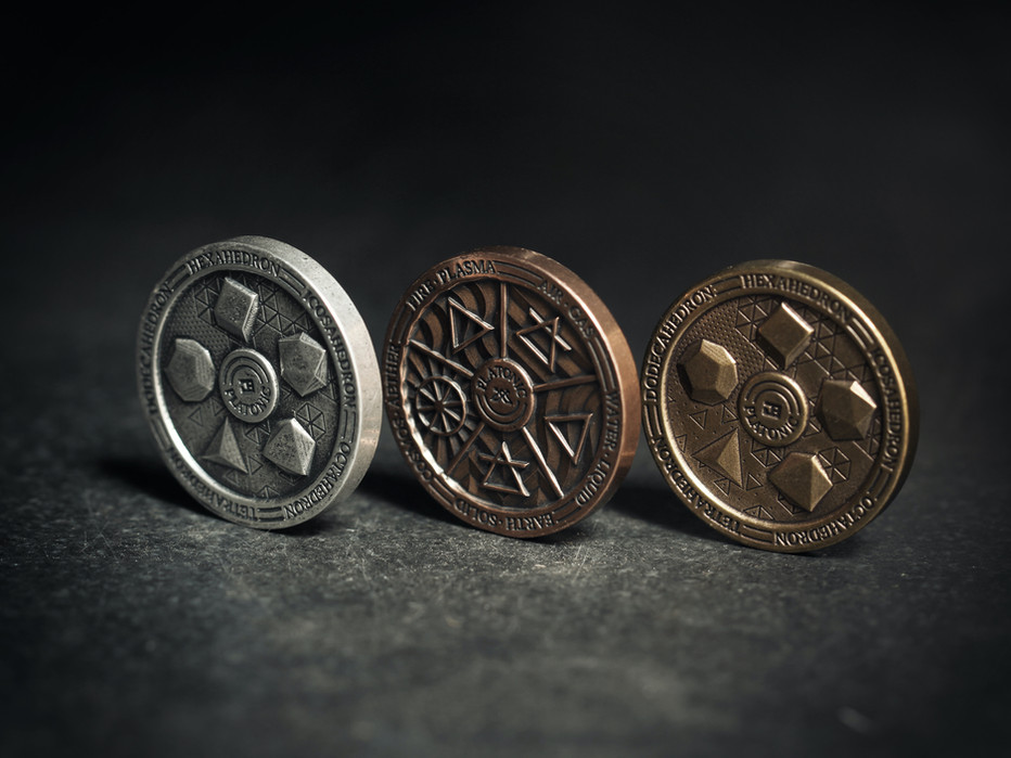 Platonic Coin