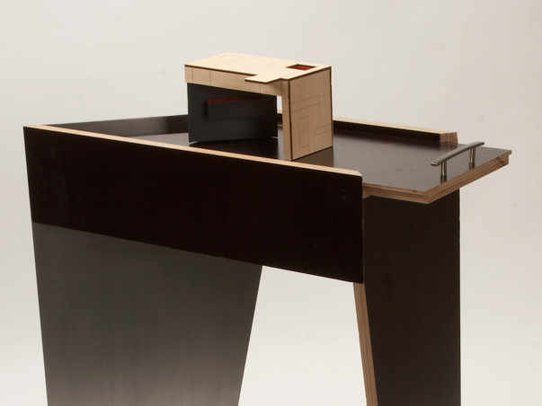 Thematic Workstation Concept & Built-out Furniture
