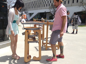 Kenetic Cocktail Table