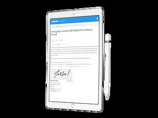 eDerma Consent - iPad and Apple Pencil.p