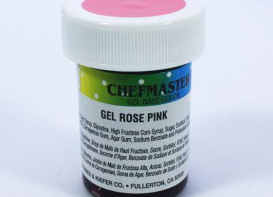 Rose Pink Gel Color
