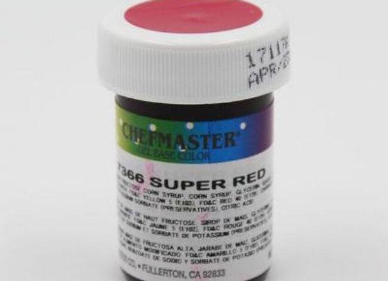 Super Red Gel Color
