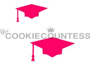 Stencil-Graduation Caps