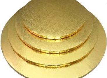 Gold Foil Cake Drums