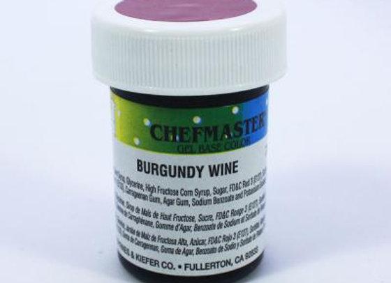Burgundy Wine Gel Color