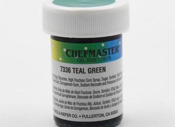 Teal Green Gel Color