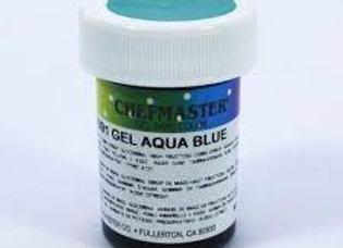 Aqua Blue Gel Color