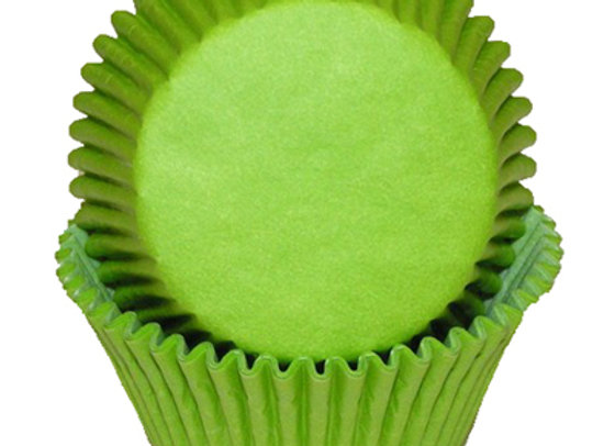 Lime Green Baking Cup 50pk