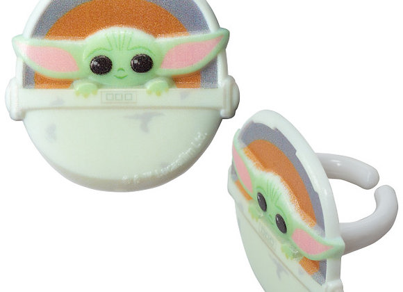 Star Wars The Child (Baby Yoda) Cupcake Toppers 8pk