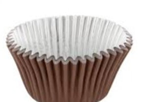 Brown Foil-Lined Deep Baking Cup 30pk