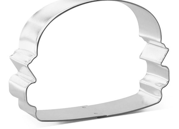 "Hamburger 3.5"" Cookie Cutter"