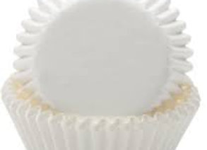 White Baking Cup 50pk