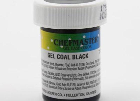 Coal Black Gel Color