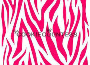 Stencil-Zebra