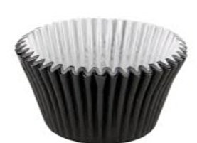 Black Foil-Lined Deep Baking Cup 30pk