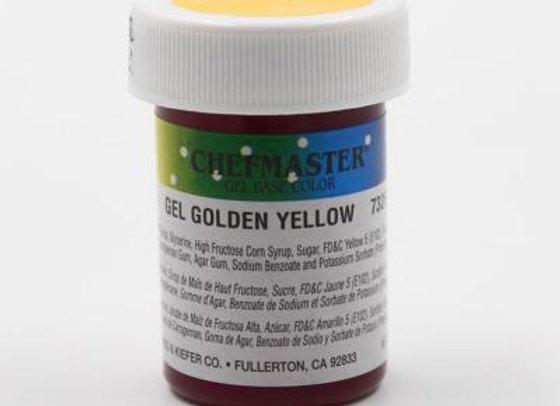 Golden Yellow Gel Color