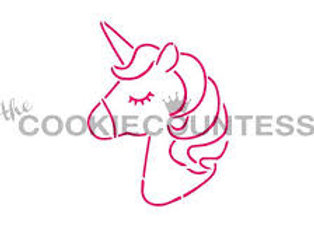 Stencil-PYO Unicorn Head