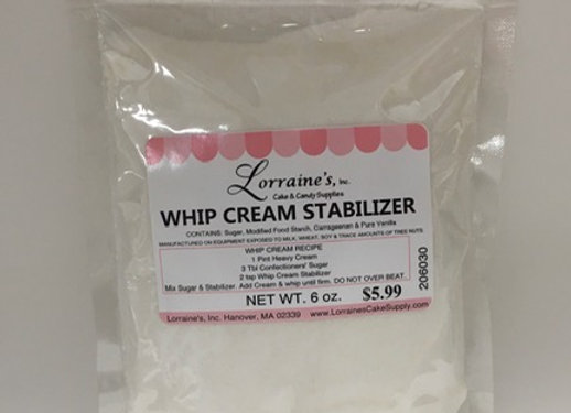Whip Cream Stabilizer 6oz