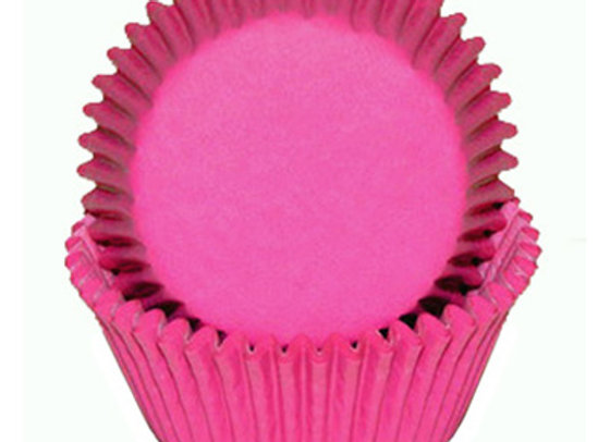 Hot Pink Baking Cup 50pk