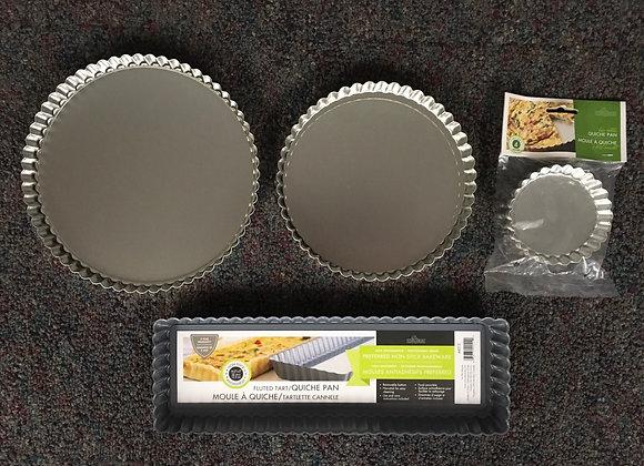 Removeable Bottom Tart Pans