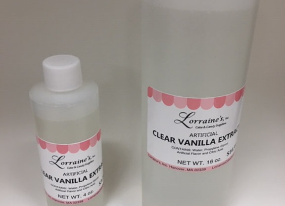 Clear Vanilla Extract