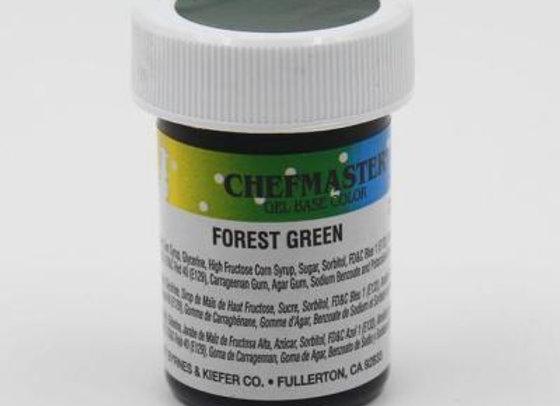 Forest Green Gel Color
