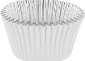 White Foil-Lined Deep Baking Cup 30pk