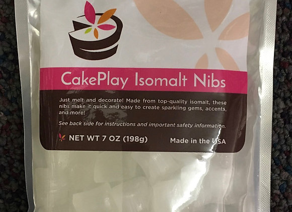 Isomalt Nibs Clear - 7oz
