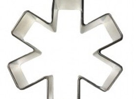 "Medical Symbol / Asterisk 3"" Cutter"