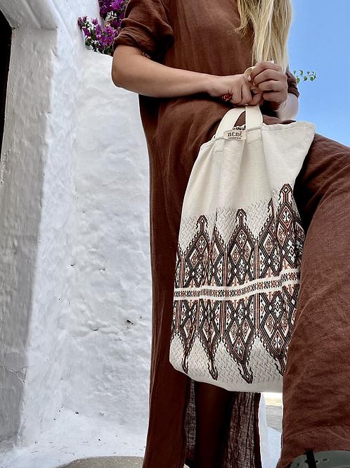 ''Spitha'' bag brown